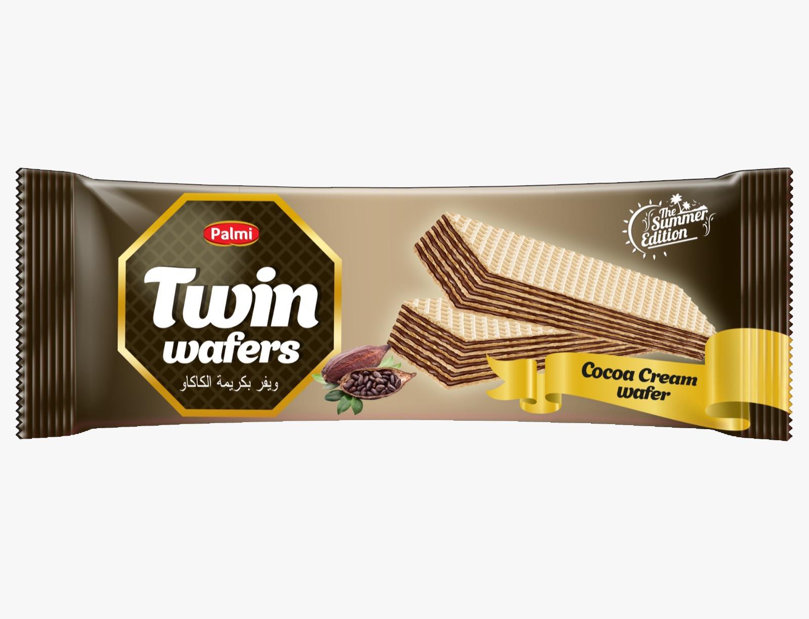 627 - Twin Wafers Kakao Kremalı