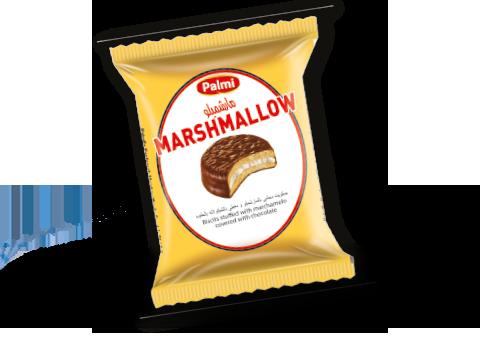 706 - Kakao Kaplamalı Marshmallowlu Sandviç Bisküvi