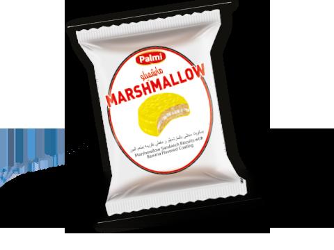 707 - Muz Kaplamalı Marshmallowlu Sandviç Bisküvi